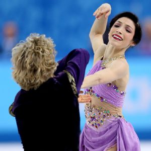 Meryl Davis and Charlie White became the first Americans to win gold in ice dancing.