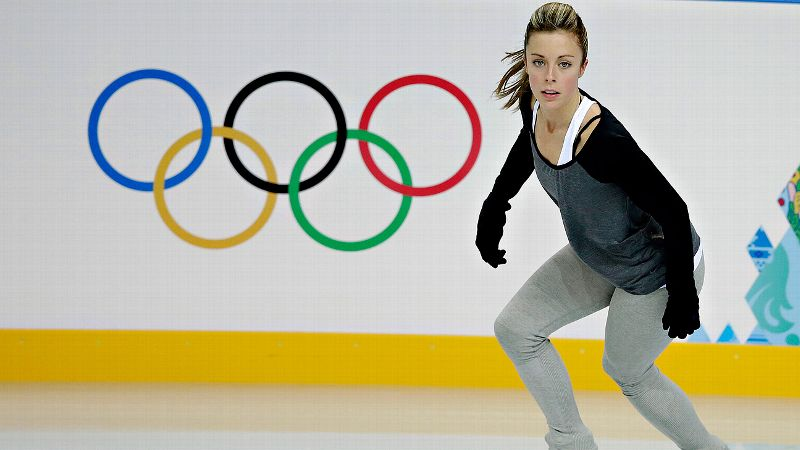 Ashley Wagner will start 27th in Wednesday's short program at the Sochi Games.