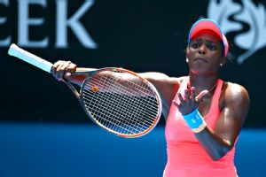 Sloane Stephens has had some auspicious results, but she hasn't seemed to be enjoying life on the tennis court lately.
