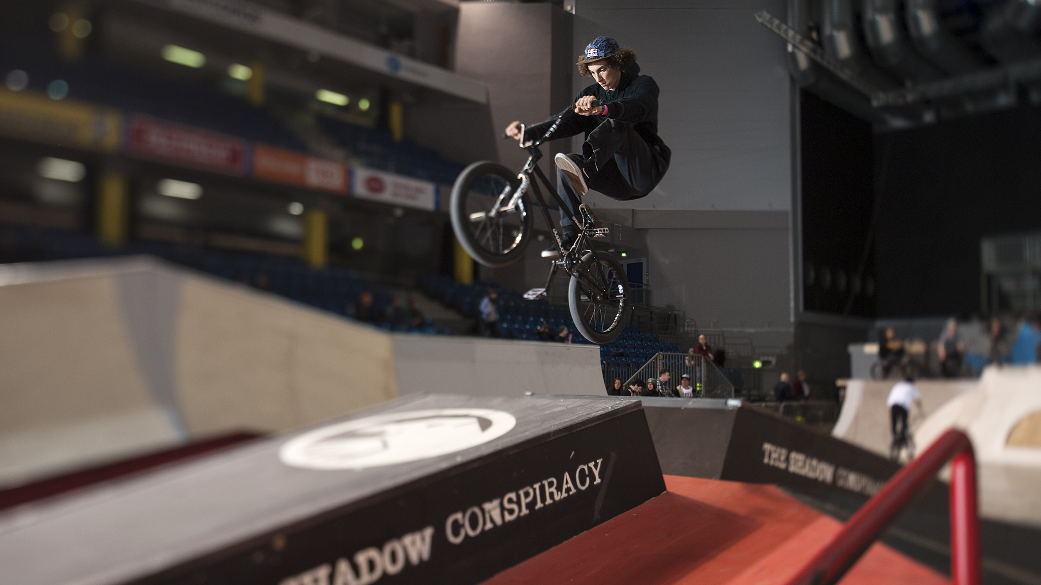 X Games BMX Street competitor Simone Barraco traveled from Italy for Simple Session, and threw nonstop crank flips throughout the weekend. Barraco finished 14th overall in the the BMX finals.