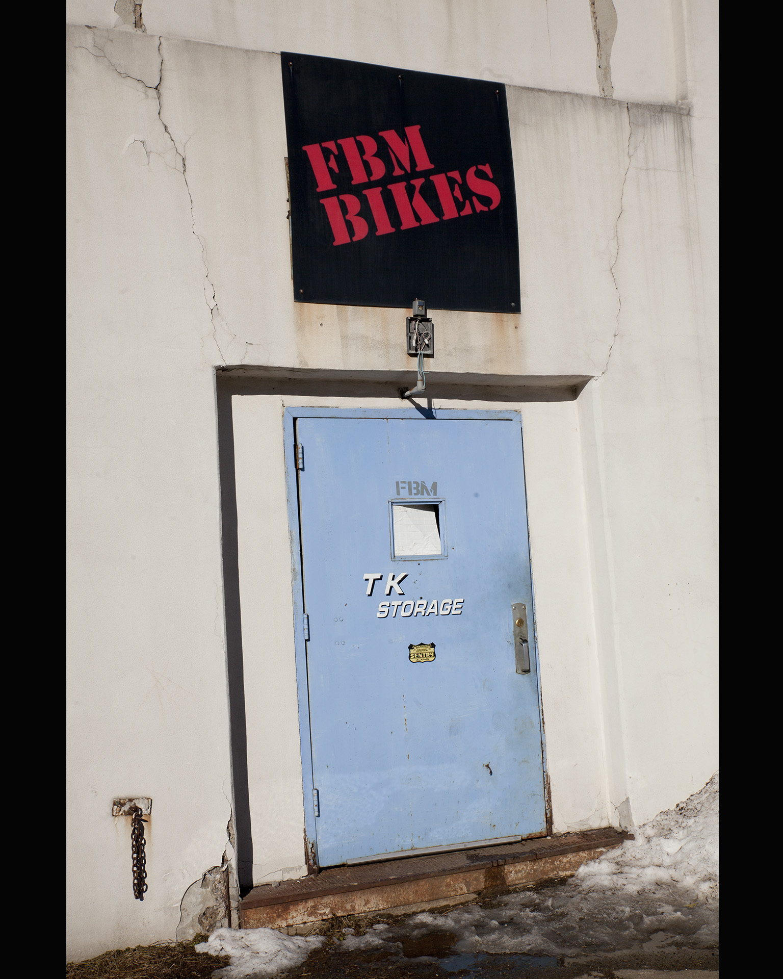 FBM Bike Co. entrance