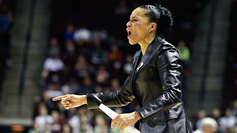 SEC: Dawn Staley, South Carolina (26-3, 14-2)