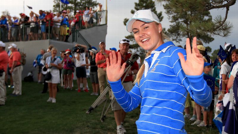 Charley Hull, 17, introduced herself to the American public by waxing Paula Creamer in the Solheim Cup.