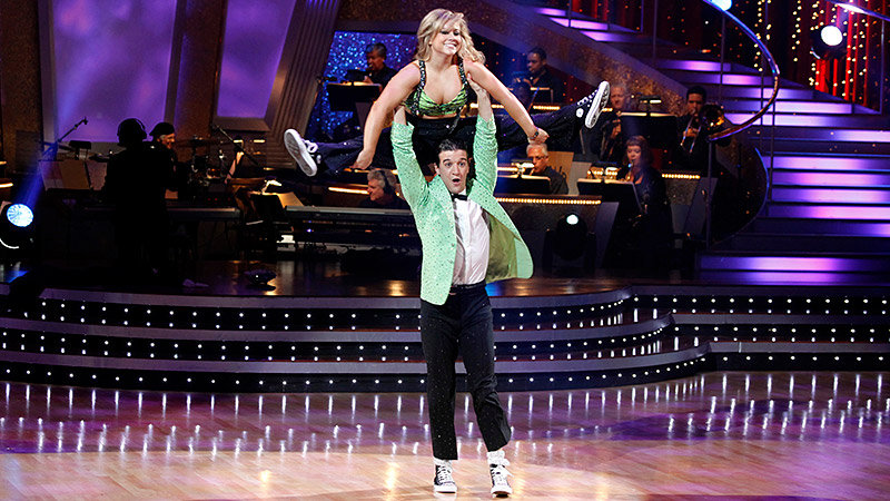 Four-time Olympic medalist Shawn Johnson took her gymnastics skills to the ballroom shortly after returning from the 2008 Olympic Games. Wowing the crowd with her flips and flexibility, Johnson and partner Mark Ballas were considered among the favorites from the very start. During the final competition, Johnson edged actor Gilles Marini by less than 1 percent of the fan vote to become the youngest winner in the show's history. Shortly after officially retiring from gymnastics in 2012, she appeared on the All-Star season and finished in second place behind reality star Melissa Rycroft.