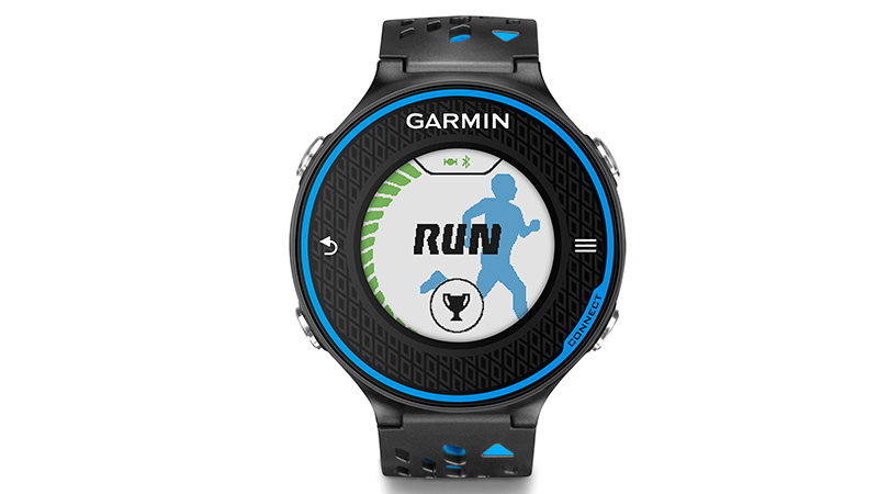 While the Forerunner 620 is a GPS watch at its core, it can also serve as a running coach. When paired with a heart rate monitor, the 620 analyzes aspects of your form, including ground contact time, cadence and vertical oscillation. By determining how much time you're spending on the ground and in the air, your stride rate, and the degree to which you are bouncing upward, it gives you concrete numbers regarding your efficiency as a runner. It is also able to estimate metrics like VO2 max, determining roughly how much oxygen you consume at a given pace, reflecting your aerobic fitness. For runners looking to not only track basic measures of distance and pace, but also gait and efficiency, this is the watch for you.