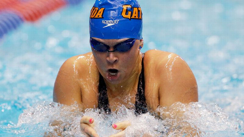 Gators senior Elizabeth Beisel is a two-time Olympian, a two-time Olympic medalist (silver in the 400-meter individual medley and bronze in the 200-meter backstroke in London) and a two-time NCAA champion. The Rhode Island native is back at the 2014 NCAA championships looking to add to her haul and is scheduled to compete in the 400-yard IM, the 200-yard backstroke and the 200-yard butterfly.