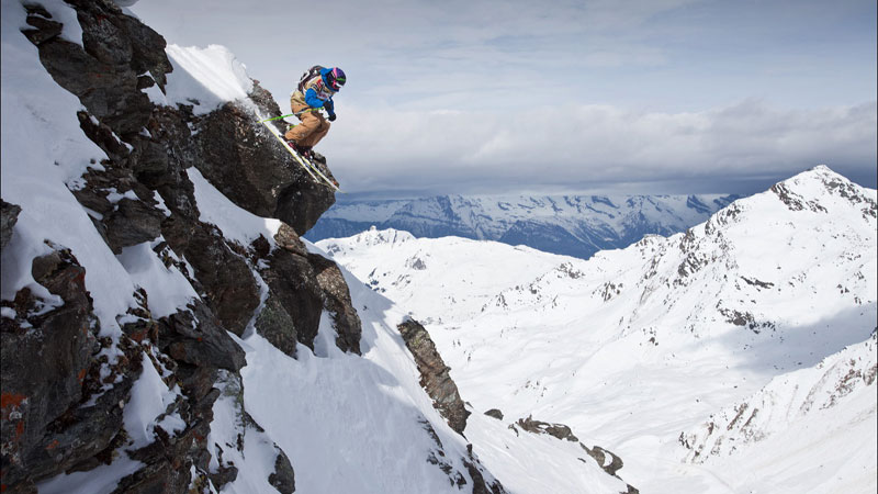 Jackie Paaso has been competing on the Freeride World Tour for years, but she's never won the overall title.
