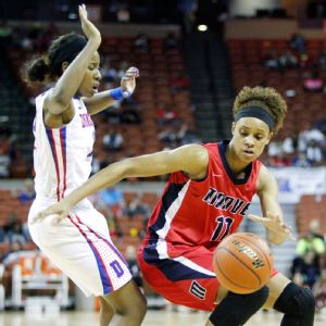 Brianna Turner will be heading off to Notre Dame, but she's left a mark on Jordan Hosey and others at Manvel.