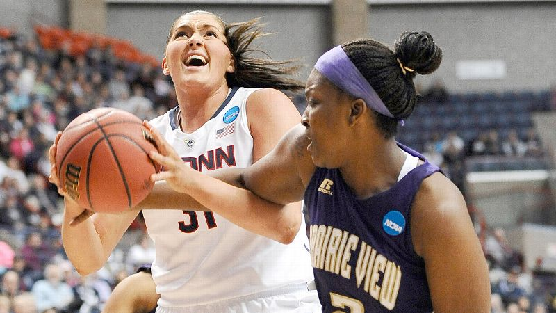 After a first-round victory over Prairie View A&M, UConn plays Saint Joseph's on Tuesday night.
