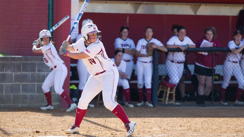 Temple sophomore Kelsey Dominik will have to go elsewhere after this season to continue her life and passion of softball.