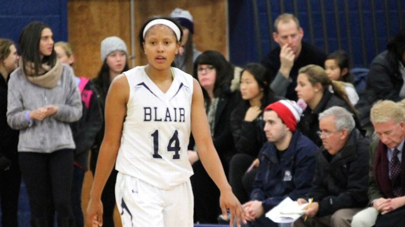 Surprise, surprise. UConn is getting a versatile offensive player in Edwards, a 5-9 guard out of Blair Academy (N.J.). But first, in Chicago, Edwards will be reunited with her high school teammate from days gone by, Bianca Cuevas of Nazareth.