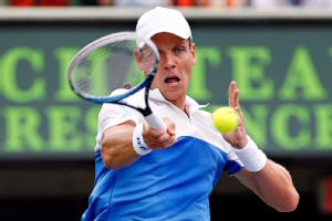 Tomas Berdych had played terrific ball in Miami until a virus forced him to withdraw.