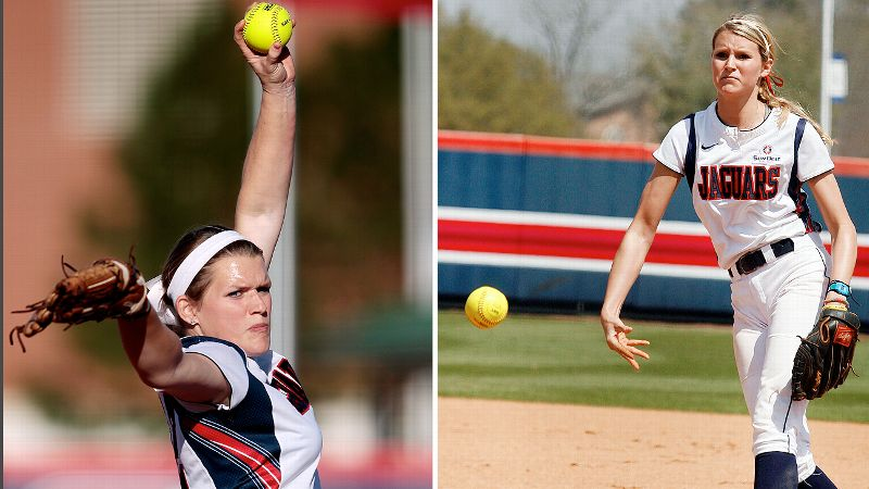 Hannah Campbell, left, and Farish Beard have combined to allow just 15 earned runs in more than 200 innings pitched.