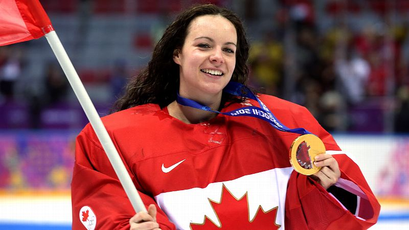 Canadian goalie Shannon Szabados broke American hearts in Sochi, but she's proving to be a big hit with U.S. fans and teammates as the first woman to play in the Southern Professional Hockey League.