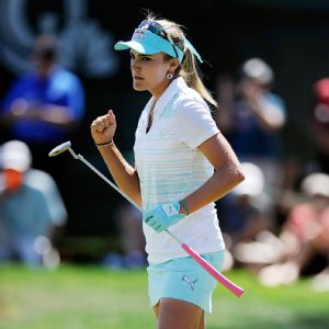 Lexi Thompson took just 13 putts on her front nine Sunday and finished the week ranked fourth on the greens.