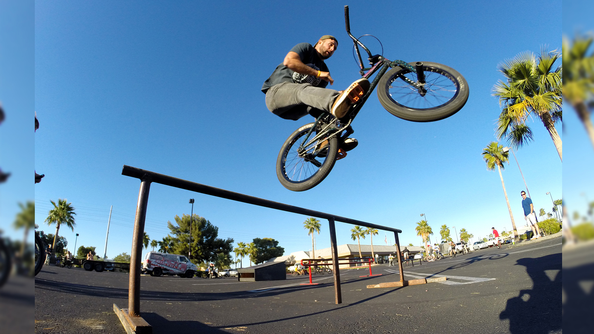 Aaron Ross, barspin