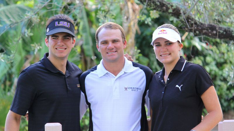 Lexi Thompson and brothers