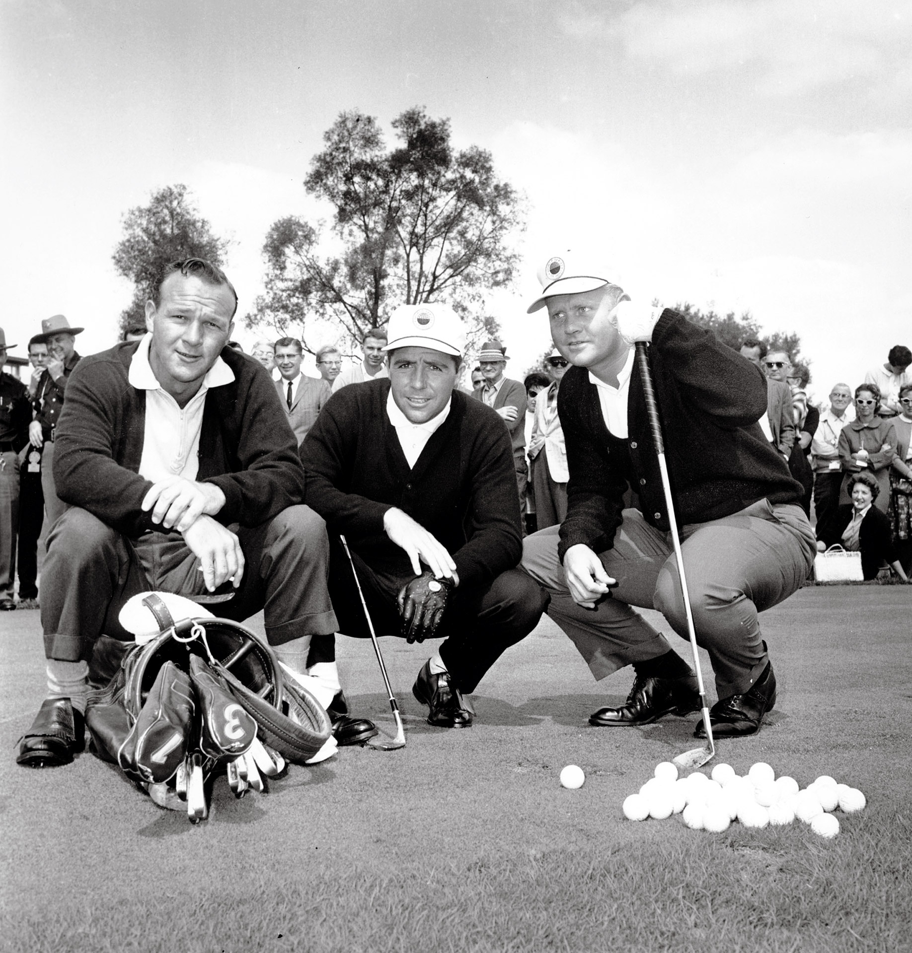 Palmer, Player, Nicklaus 1962