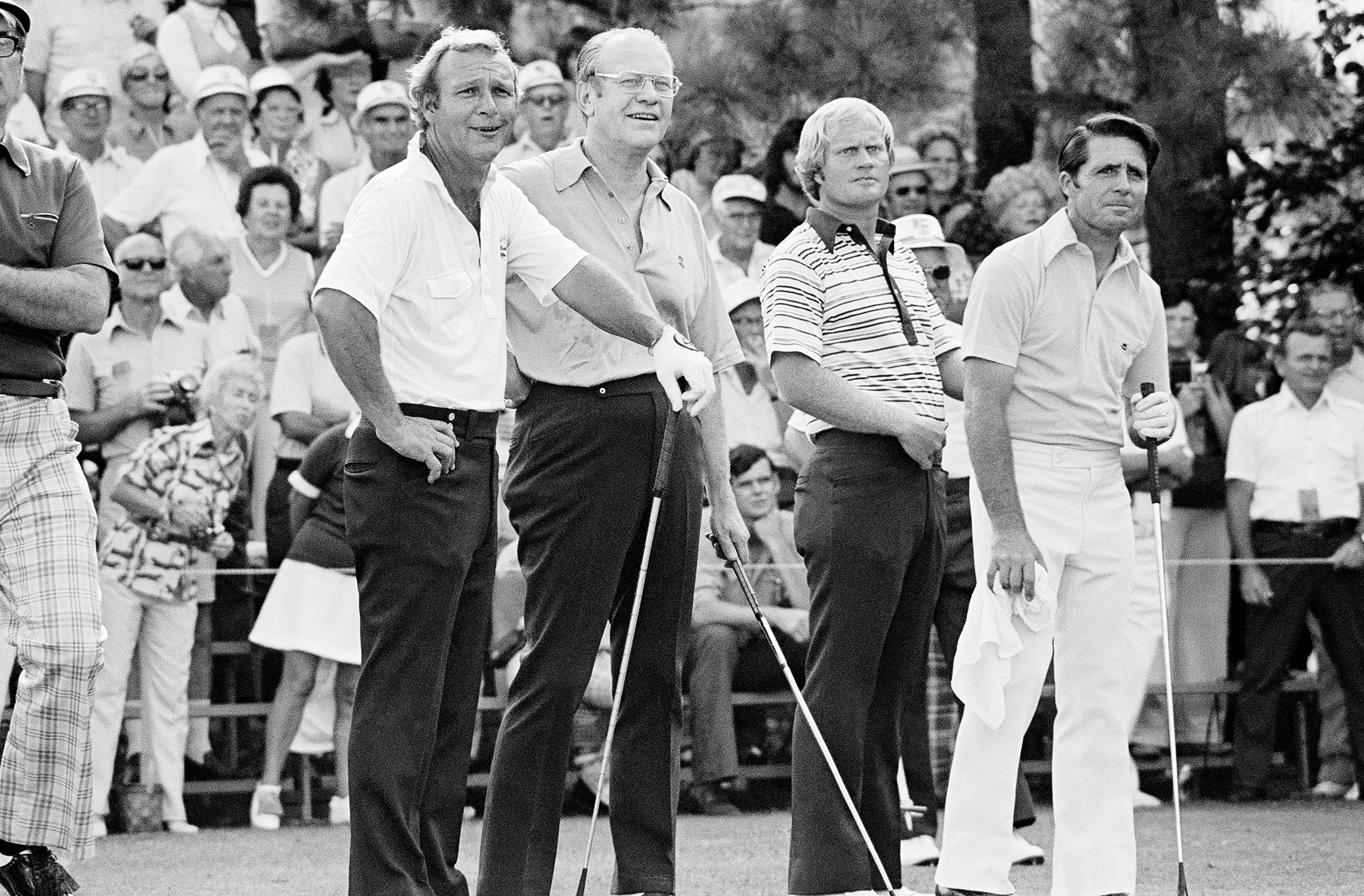 Ford, Palmer, Nicklaus, Player 1974
