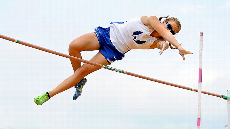 espnW -- Soaring spirit helps Charlotte Brown, blind pole vaulter from Texas, succeed on track and off