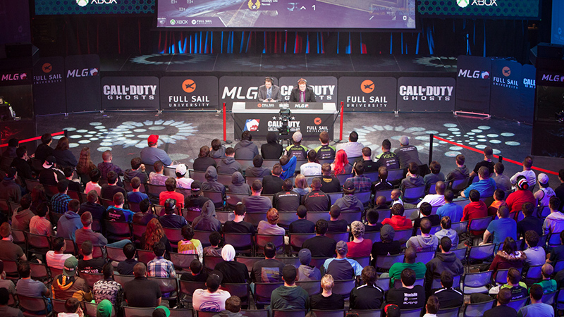 Fans watch Major League Gaming's Call of Duty U.S. Championship last month at Full Sail University in Winter Park, Fla. ESPN announced MLG will host a Call of Duty tournament on-site at X Games Austin in June.