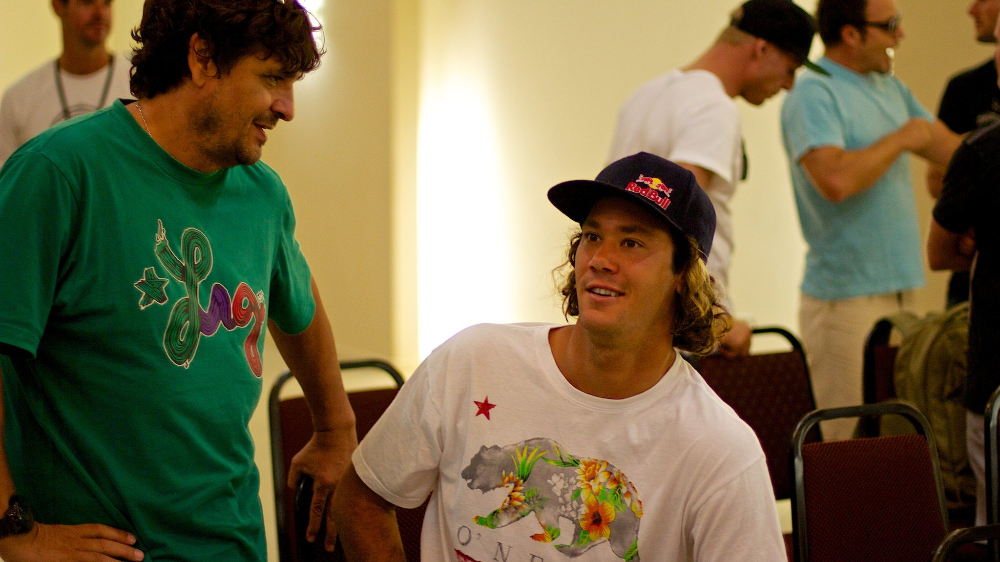 Jordy Smith e 'Pinga'