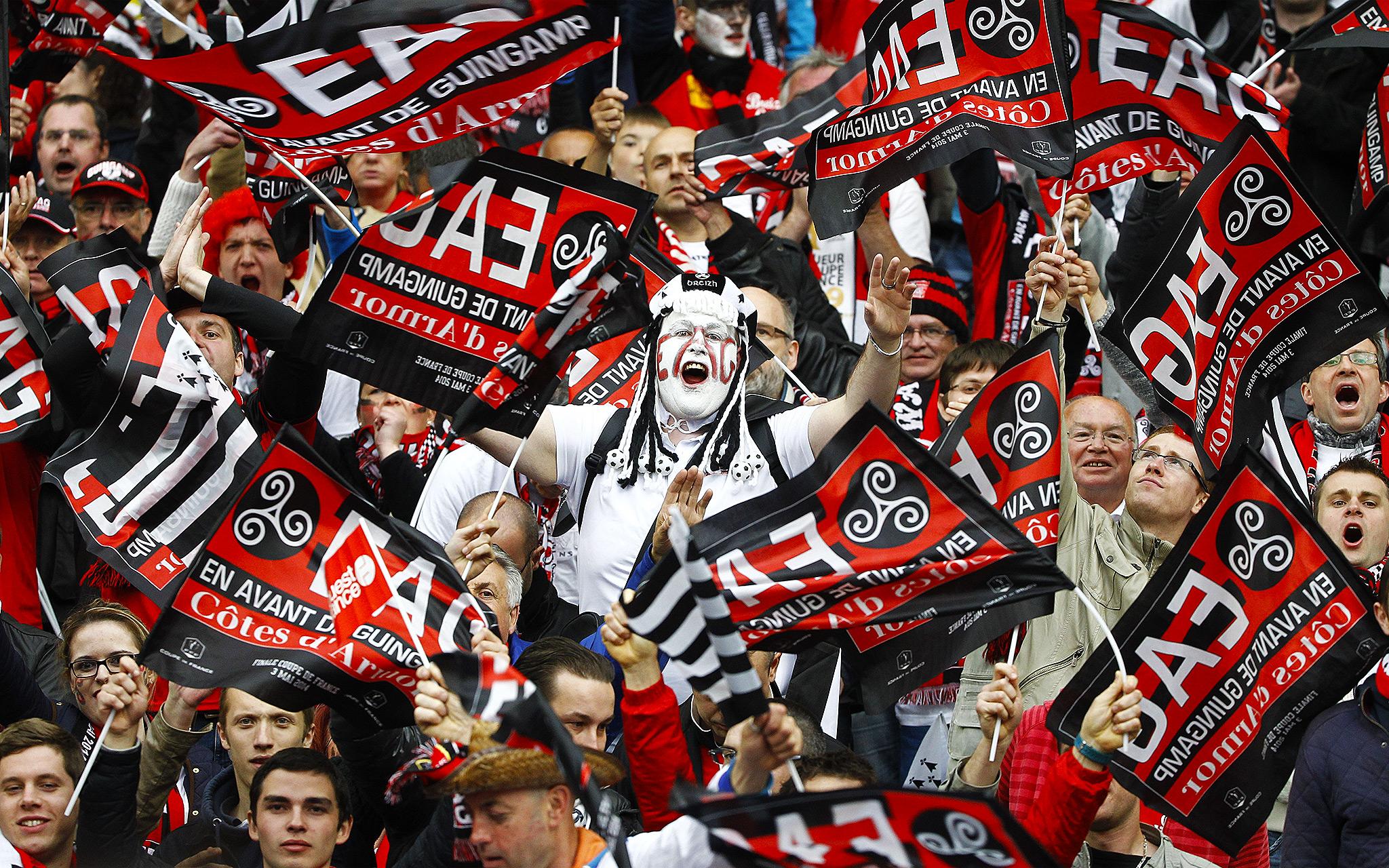 Guingamp fans