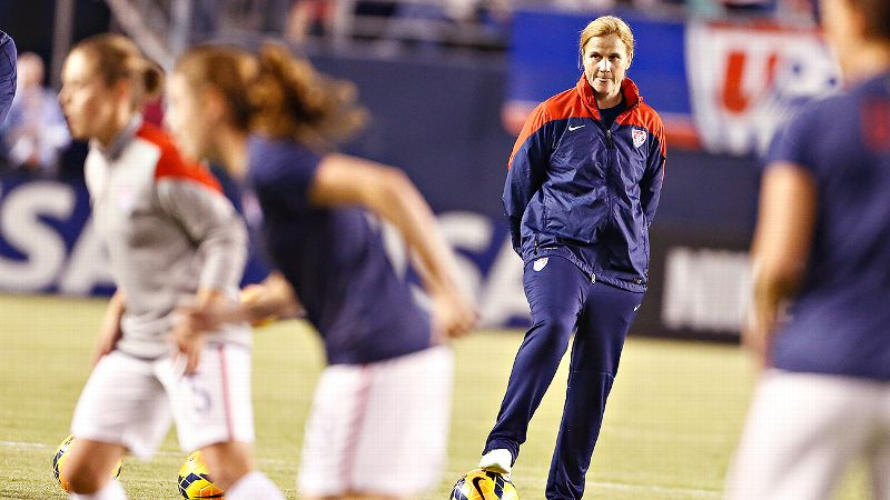 I'm truly honored and humbled to have the opportunity I have now, Jill Ellis says. And it makes it really special to know my father is around to see it and experience it as well.