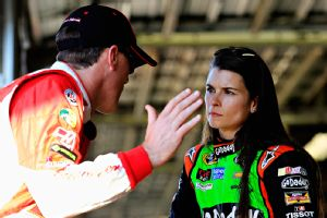 Danica Patrick soaks up the advice of teammates such as Kevin Harvick, who are proven winners in Sprint Cup.