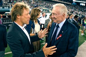 It's your life, but it gets coooold in Buffalo, Jon Bon Jovi. Jerry Jones can attest.