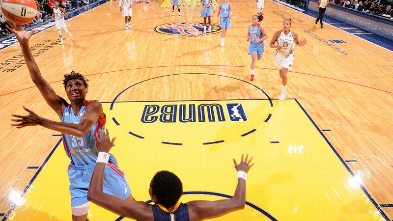 Averaging at least 21 points each of the past four seasons, McCoughtry dropped 27 points in a double-overtime victory at Indiana and scored 21 in a season-opening win over San Antonio. The two-time WNBA scoring champ -- who has led the Dream to the WNBA Finals in three of the past four seasons -- is 17-for-29 from the field so far (58.6 percent).  McCoughtry was voted the most dangerous WNBA player on the open floor in the annual preseason league GM survey.