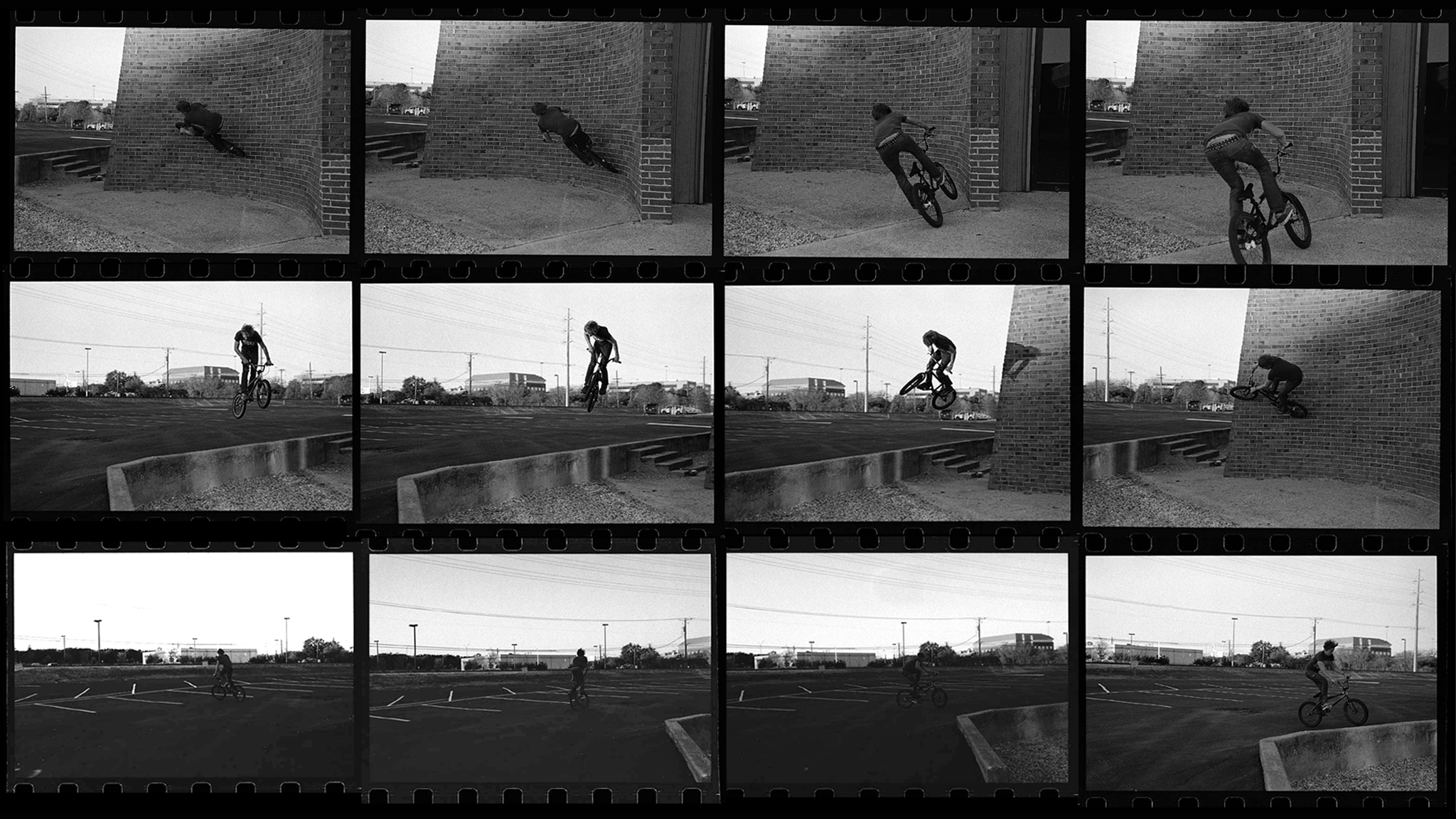 Curved wallride to 180, 2005