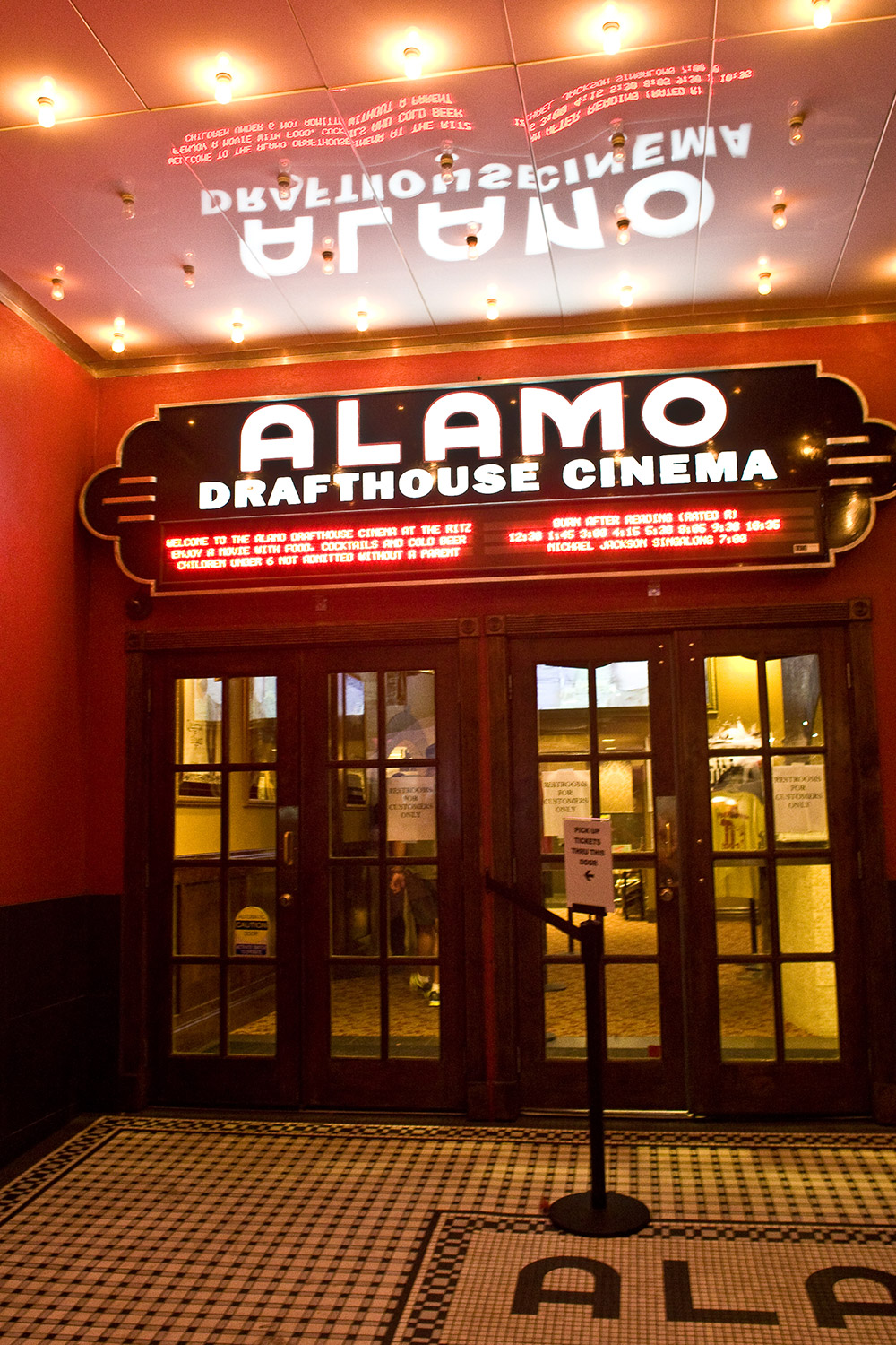 There is nothing like escaping the afternoon heat for the ice-cold AC and darkness of a movie theater. Austin is home to the bAlamo Drafthouse/b, one of the coolest movie theaters in the U.S. brbrThe Alamo is loved by everyone from Hollywood directors and actors who premiere their films there during SXSW and Fantastic Fest to Austin locals who come out ien masse/i for quirky quote-alongs of cult classics and crazy eight-hour Lord of the Ring movie marathons. brbrThe Alamo also loves food almost as much as film and serves it (delicious, real food) along with cold beers and cocktails during their films. There are Alamo Drafthouses all across the nation now, but nothing beats the original one.