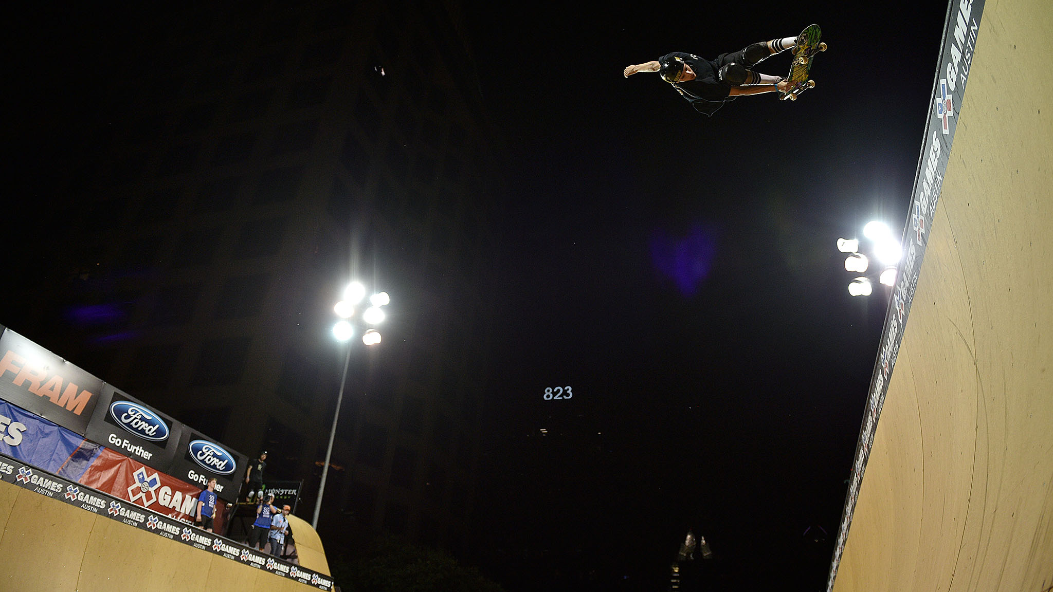 Jimmy Wilkins, 20, won his first X Games gold and became the youngest Vert gold medalist ever.