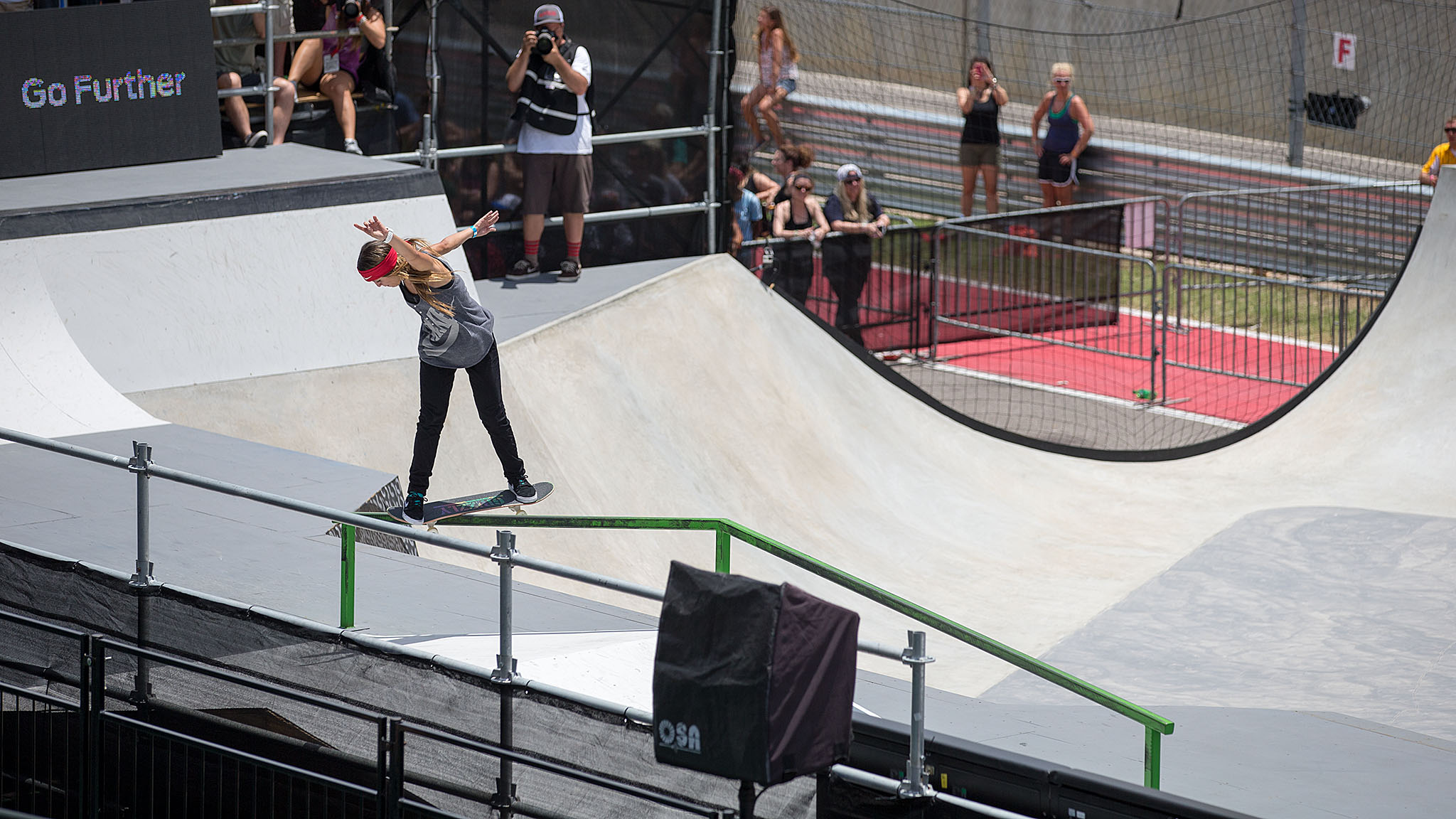 Brazilian Leticia Bufonia came into X Games Austin as the clear favorite in Women's Skateboard Street -- she won the last two X Games Women's Street contests in Los Angeles and Foz do Iguau, Brazil. In the end, Bufoni finished the competition with the bronze medal, behind winner Lacey Baker and silver medalist and fellow Brazilian Pamela Rosa.
