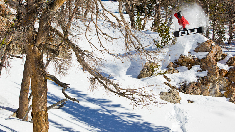 One day you're doing stunt work on a Disney movie, the next you're in the backcountry filming with Travis Rice and Bryan Iguchi. That's what we call living the dream.