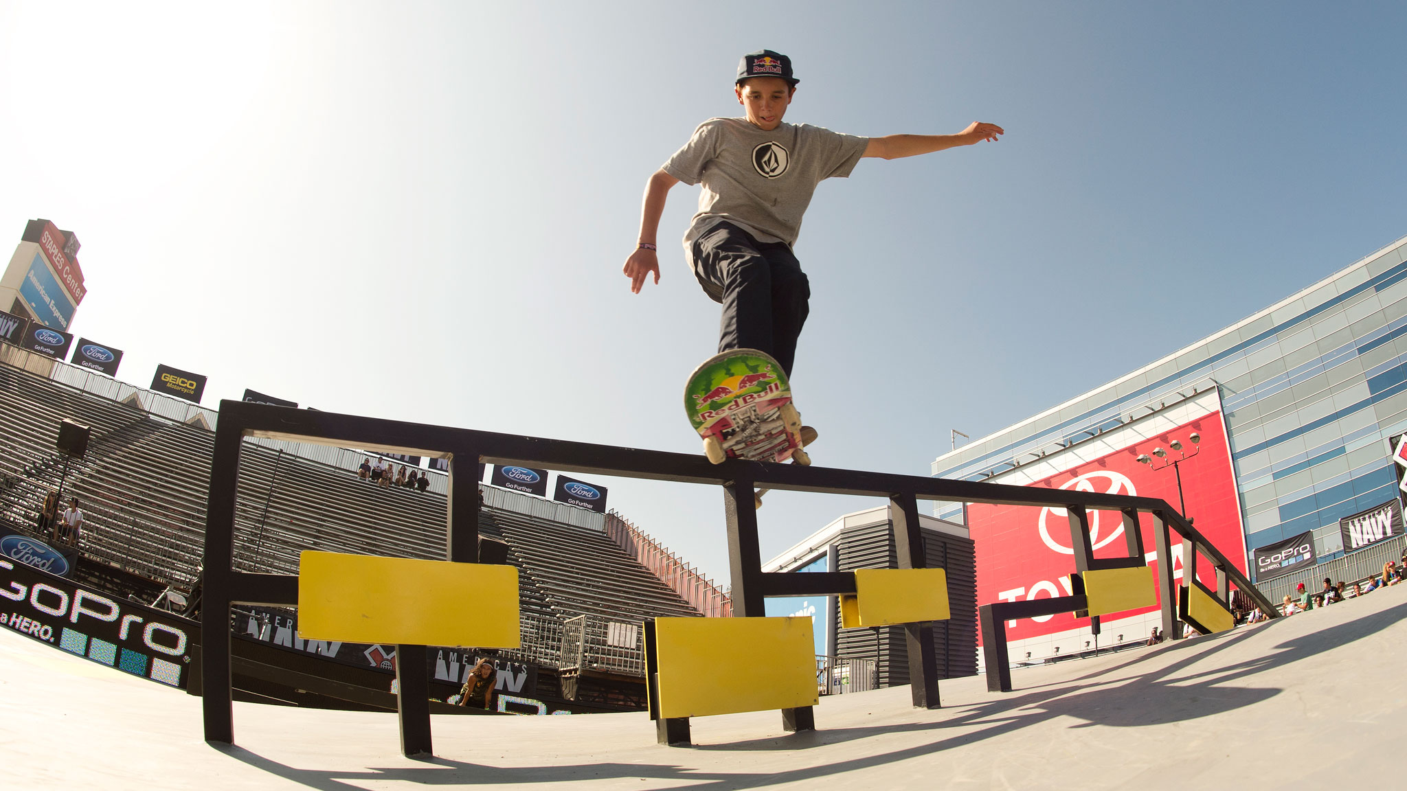 Skateboarder Alex Midler, now 15, got his first sponsor at age 8.