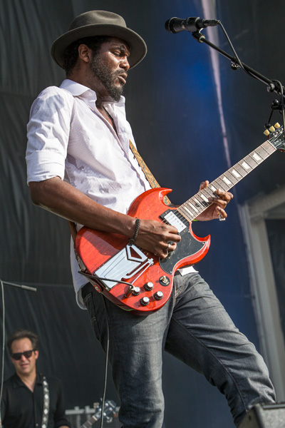 Gary Clark, Jr., performs for a hometown crowd at X Games Austin 2014.