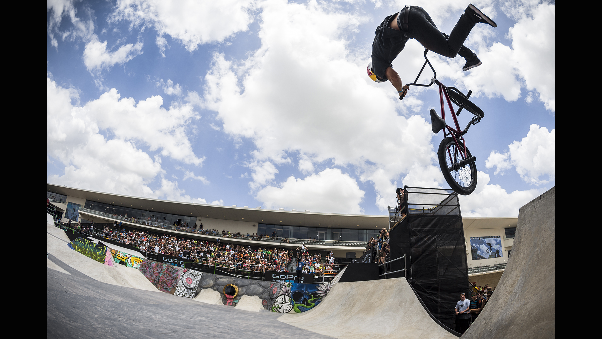 BMX Street -- Garrett Reynolds