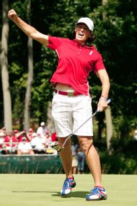 A stalwart for the U.S. in Solheim Cup play, Juli Inkster will be the captain in 2015.