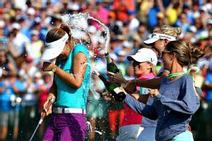 Michelle Wie has the it'' factor. She's popular with fans and fellow players alike.