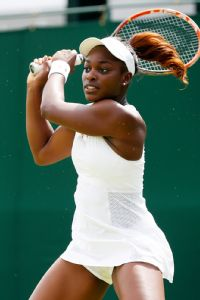 Sloane Stephens fought off five match points on Monday before finally succumbing on the sixth.