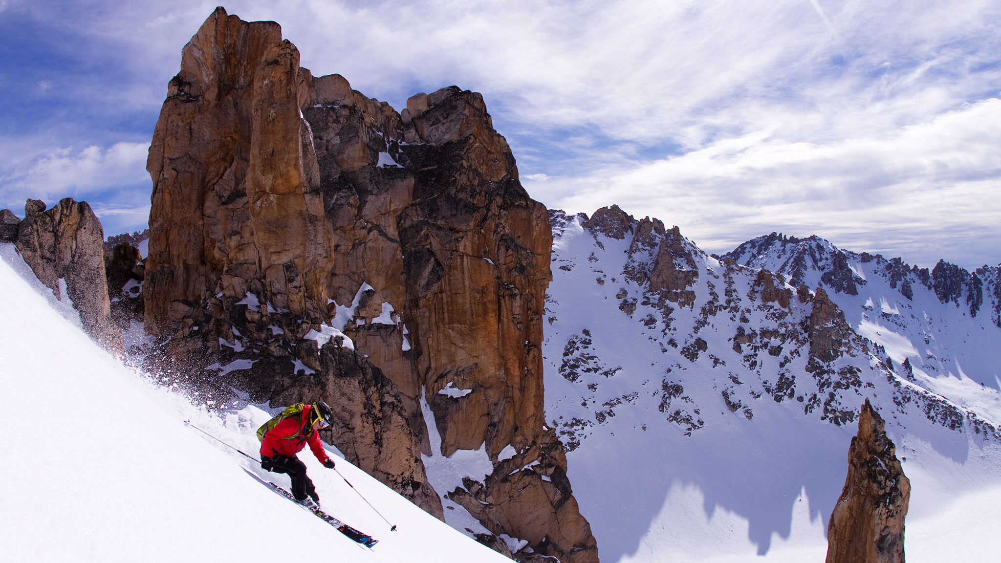 Giulia Monego was a competitive big-mountain skier before deciding to become a mountain guide.
