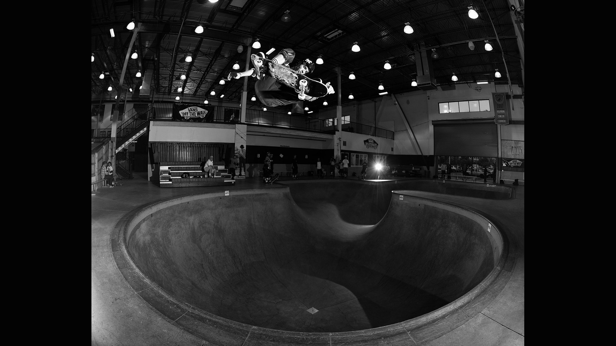 Frontside ollie alternate view