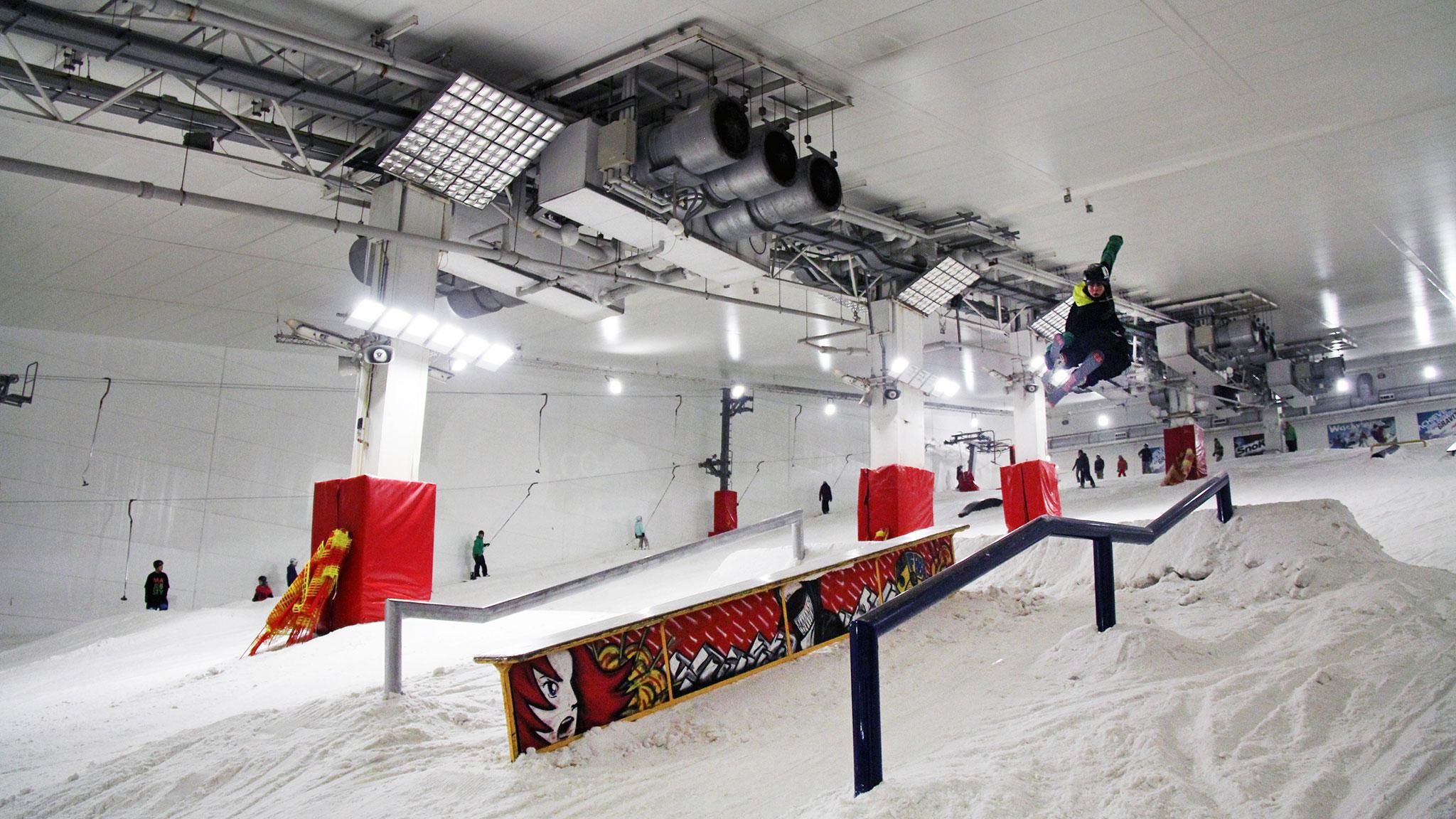 Monty Wright, Xscape Snowzone