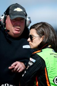 Crew chief Tony Gibson has been encouraged by Danica Patrick's development since her seventh-place finish at Kansas.