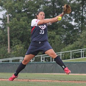 Jaclyn Traina was part of the team that beat Japan in the medal round of the world championship two years ago and pushed the same team to extra innings for the gold medal.