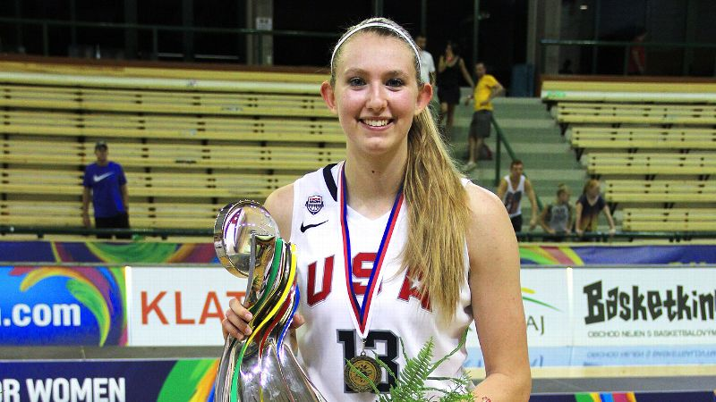 Lauren Cox, who averaged 7.1 points per game, poured in 20 for Team USA in the gold-medal game against Spain.