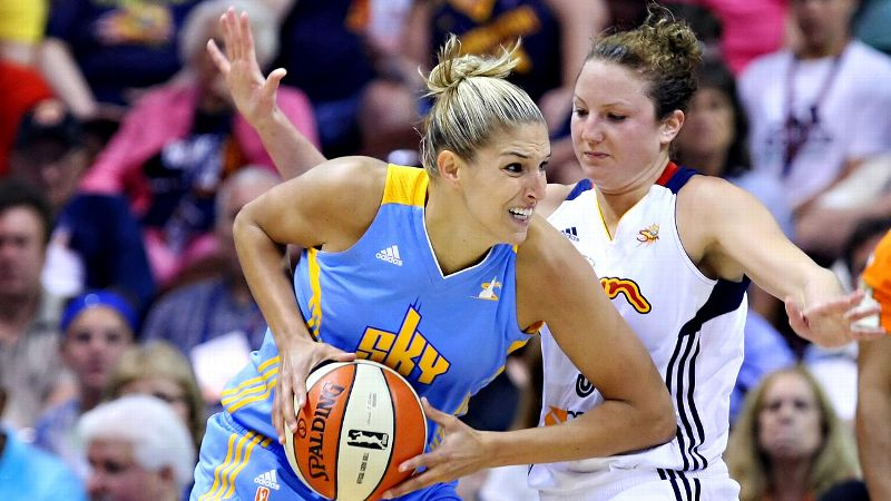 She's not going to win the MVP award this season, having played just nine games thus far because of a recurrence of Lyme disease. But Delle Donne at least deserves a mention for what she was able to show of her improvement in her second year in the WNBA. She felt she had to get stronger physically even after winning the league's rookie of the year award in 2013, and she has done that. Chicago got off to a strong start because Delle Donne did, averaging 21.2 points and 4.9 rebounds. Her last game action was June 25, and what she provides is something Chicago really can't replace. The Sky have gone 2-5 since then.