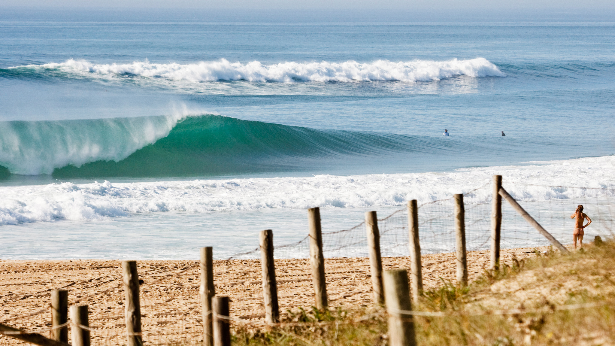 Hossegor is the reason that France has the reputation for having some of the best beach breaks in the world. It may also be the reason that the rest of the world wears swim suits.